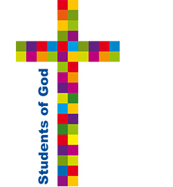 "Logo Studentengemeinde ""Students of God"""