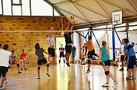 Hochschulsport: Volleyball in der Halle