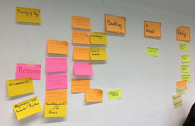 "Workshop zum Thema ""Agiles Projektmanagement"""