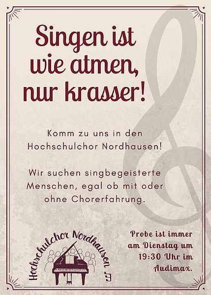 Hochschule Nordhausen: Hochschulchor